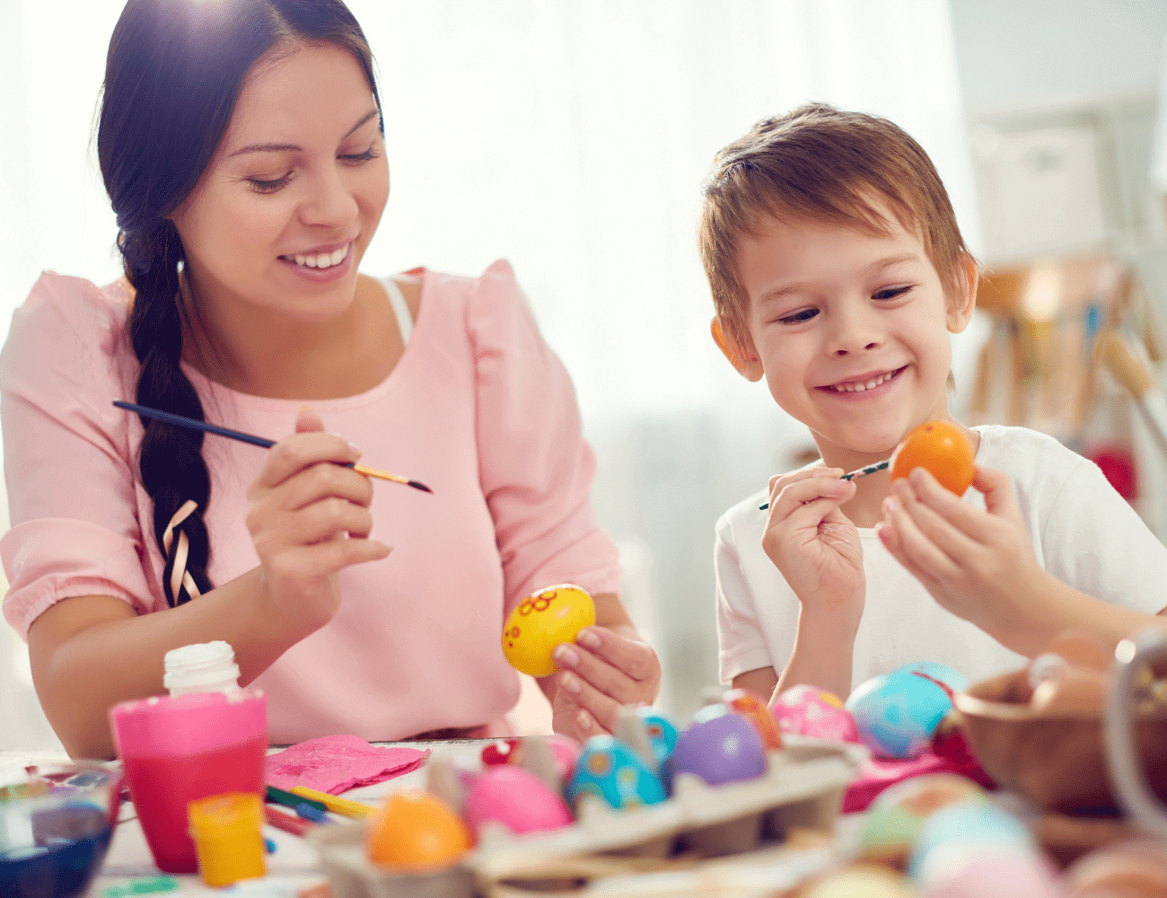 Ideas for a children's Easter crafternoon