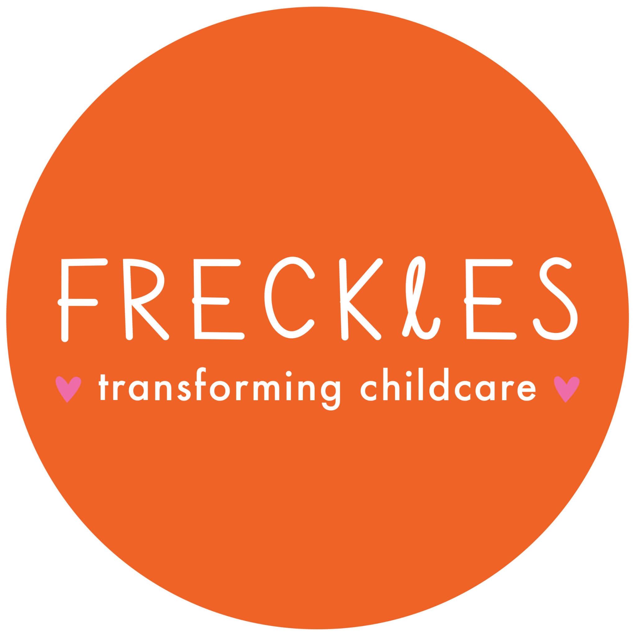 Freckles logo orange circle (4)